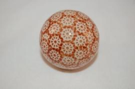 Pools aardewerk kraal Ø 4,5cm