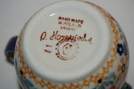 Koffiemelk kannetje, Unikat uitvoering, H8cm