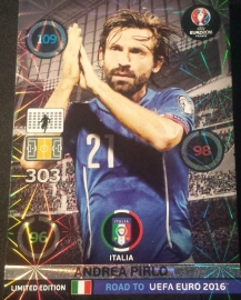 Panini Adrenalyn XL Road to France Limited Card PIRLO