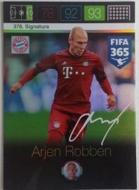 Signature Arjan Robben