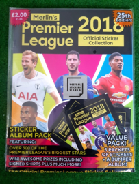 Topps Premier League 2018 Starter
