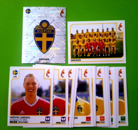 Panini EURO 2017 Complete Team set Sweden