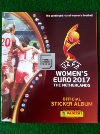 Panini Women EURO 2017 The Netherlands Album
