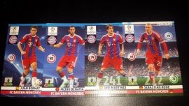 Panini Adrenalyn XL CL 14/15 Update Edition Fc Bayern complete set