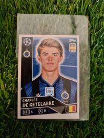 Topps Champions League 2020/2021 Charles de Ketelaeire ROOKIE