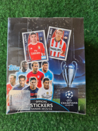 Topps Champions League 2015/2016 box