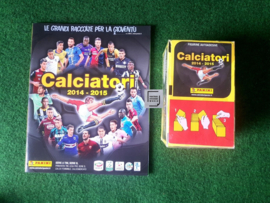 Panini Calciatori 2014/2015 Album + Box