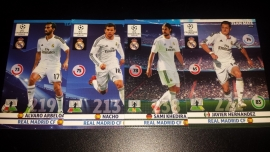 Panini Adrenalyn XL CL 14/15 Update Edition Real Madrid complete set