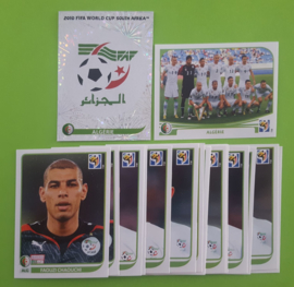 World Cup 2010 Complete Team Set Algeria