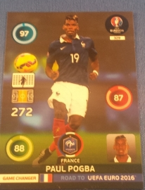 Panini Adrenalyn XL Road to France 16 GAME CHANGER POGBA