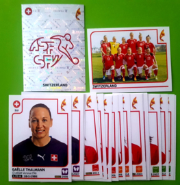 Panini EURO 2017 Complete Team set Switserland
