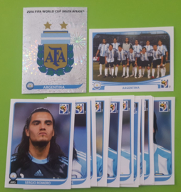 World Cup 2010 Complete Team Set Argentina