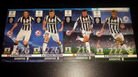 Panini Adrenalyn XL CL 14/15 Update Edition Juventus complete set