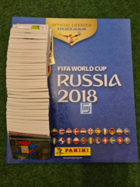 Panini World Cup 2018 Complete set + Album