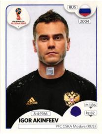 22 RUS Igor Akinfeev