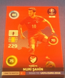 Panini Adrenalyn XL Road to France 16 One to Watch SAHIN