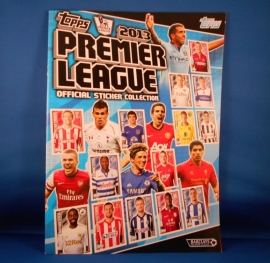 Topps Premier League 2013 album
