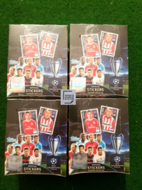 Topps Champions League 15/16 4 Sealed boxen
