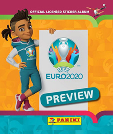 Panini EURO 2020 ORANGE (Preview)