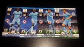 Panini Adrenalyn XL CL 14/15 Update Edition Manchester Citycomplete set