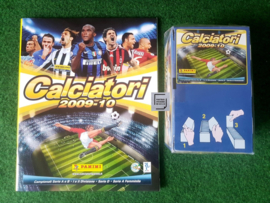 Panini Calciatori 2009/2010 Album + Box