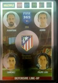 394 Defensive Line-Up ATLETICO MADRID