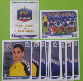 World Cup 2010 Complete Team Set France
