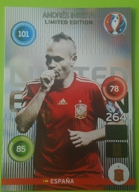 Limited Card INIESTA