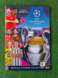 Topps Champions League 2020/2021 Stickers ALBUM