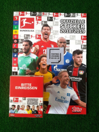 Topps Bundesliga 2018/2019 Album + Box