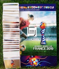 Panini Womens World Cup France 2019 Complete set