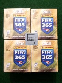 Panini FIFA 365 2019 4 sealed boxen