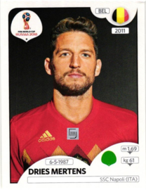 517 BEL Dries Mertens