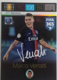 Signature Marco Verratti