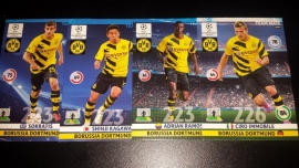 Panini Adrenalyn XL CL 14/15 Update Edition Borussia Dortmund complete set