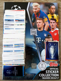 Topps Champions League 2016/2017 Complete set + Album