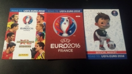 Panini Adrenlyn XL Road to France 16 numbers 1-2-3
