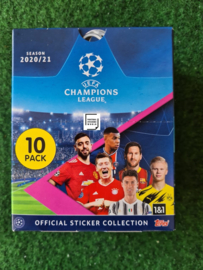 Topps Champions League 2020/2021 Stickers Box