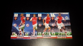 Panini Adrenalyn XL CL 14/15 Update Edition Arsenal complete set