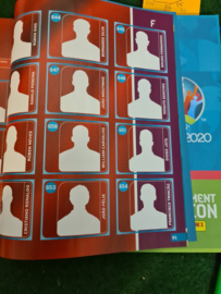 Panini EURO 2020 Blue The Tournament Hardcover Album