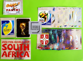 Panini World Cup 2010 Complete set foils