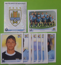World Cup 2010 Complete Team Set  Uruguay
