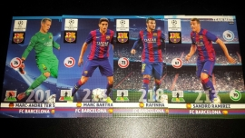 Panini XL Adrenalyn CL 14/15 Update Edition FC Barcelona complete set