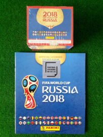 Panini World Cup 2018 Gesealde Box met 100 zakjes + Album