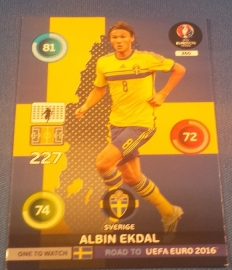 Panini Adrenalyn XL Road to France 16 One to Watch EKDAL