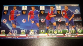 Panini  Adrenalyn XL CL 14/15 Update Edition FC Basel complete set