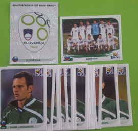 World Cup 2010 Complete Team Set Slovenia