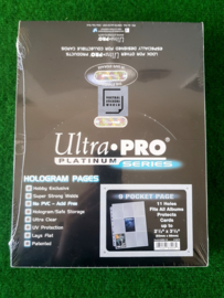 Ultra Pro Hologram 100 Pages Platinum 9-Pocket