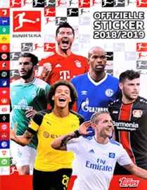 Topps Bundesliga 18/19 001-050