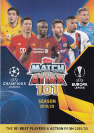 Topps Match Attax 101 Cards stickers 2019/2020